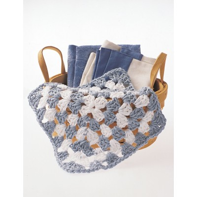 two-tone dishcloth
